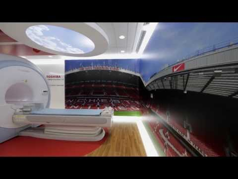 Toshiba Imaging Center Opening at Manchester United AON Training Centre