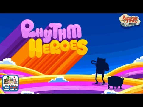 Adventure Time: Rhythm Heroes - Embark On A Rhythmic Adventure (Cartoon Network Games)