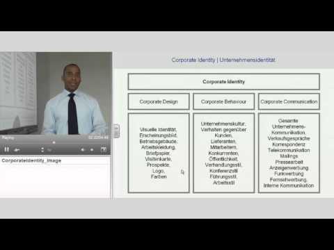 "Corporate Identity | ""Marketing Management Grundlagen"" | Anthony Holtz"
