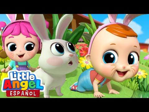 el-bebé-busca-los-huevos-de-pascua-por-primera-vez🐰-|-little-angel-español