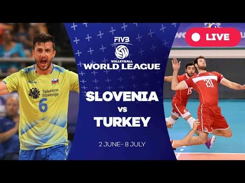 Slovenia v Turkey - Group 2: 2017 FIVB Volleyball World League