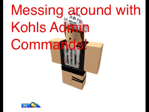 how to call in admin commands roblox