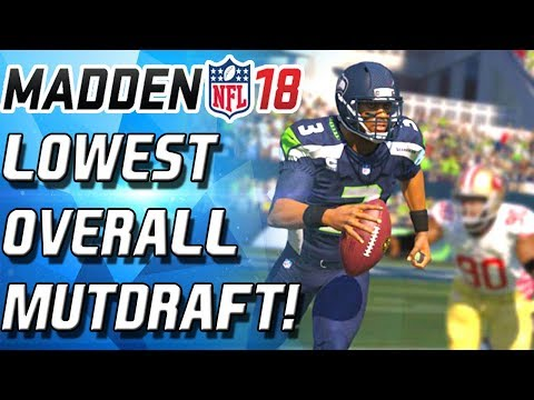 BLACK FRIDAY DRAFT! DRAFTING ON A BUDGET! - Madden 18 Ultimate Team