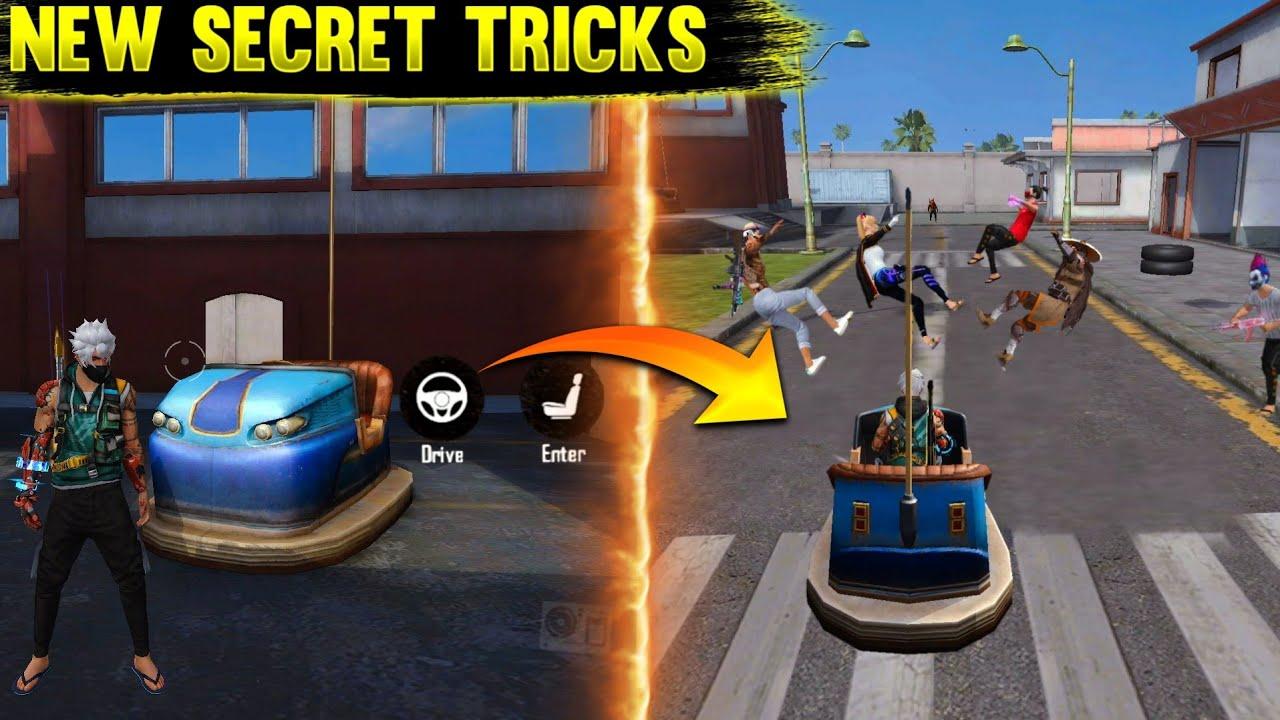 Top 5 New Unknown Tricks in free fire    5 Best Secret trick's in Garena free fire