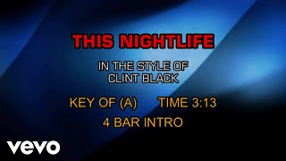 Watch Clint Black This Nightlife video