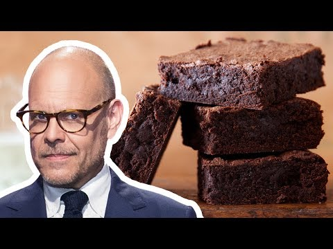 Alton Brown Makes the Best Homemade Cocoa Brownies | Food Network