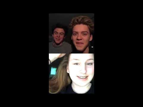 New Hope Club - HollywoodRecords' Insta Live (December 1st, 2017)