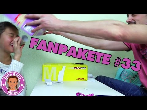 Geschenke über Geschenke - Fanpakete an CuteBabyMiley - DANKE!
