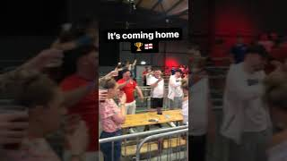 England Fans In Manchester Celebrate Win Over Croatia Euros 2020   Pie Radio Shorts