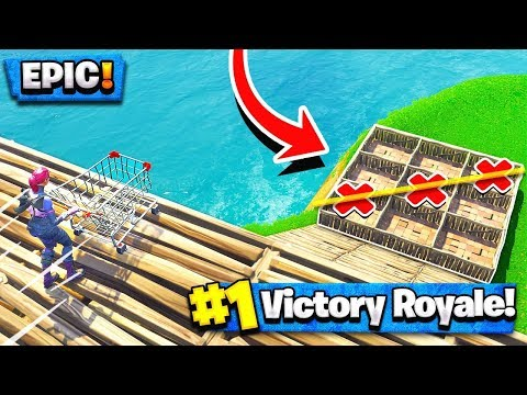 *NEW* PLAYGROUND MODE - EPIC TIC TAC TOE (Fortnite Battle Royale)