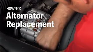 How To Replace Your Alternator - AutoZone Car