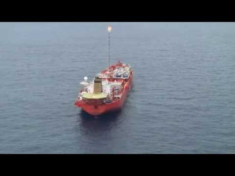 Overflight Of FPSO Front Puffin Aje Field FASL Nigeria