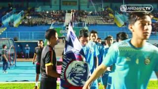 Tunel cam (inside view) Arema FC vs Barito Putera