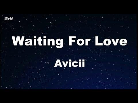 Waiting For Love - Avicii Karaoke 【No Guide Melody】 Instrumental