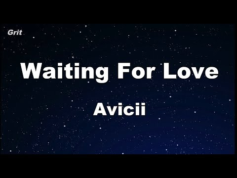 Waiting For Love - Avicii Karaoke 【No Guide Melody】 Instrumental