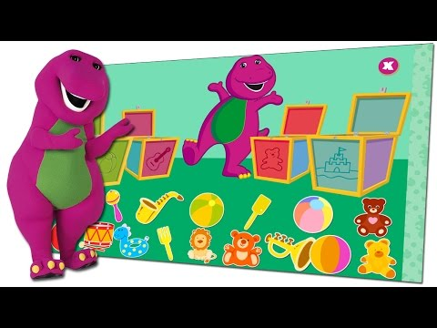 Barney & Friends – Playtime Is Over Time To Clean Up.