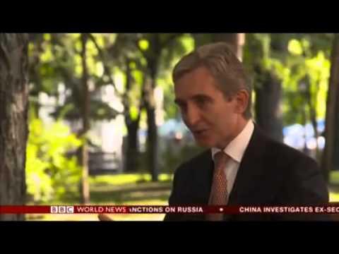 Hard Talk cu Iurie Leancă pe BBC World News