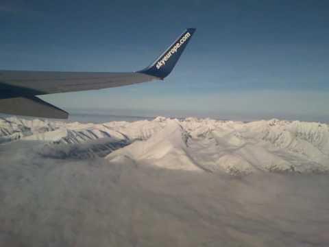 Flight over High Tatras, Slovakia