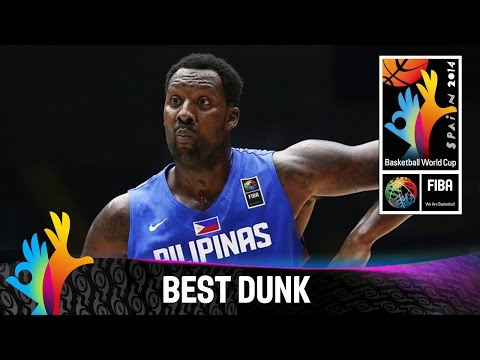 Blatche with the dribble and two-handed jam in OT v Senegal - 2014 FIBA Basketball World Cup