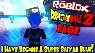 Ich HABE EINE SUPER SAIYAN BLUE! | Roblox: Drachenball Z RAGE