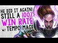 STILL 100% WIN RATE W/ TEMPO MAGE! | Constructed | The Boomsday Project | Hearthstone