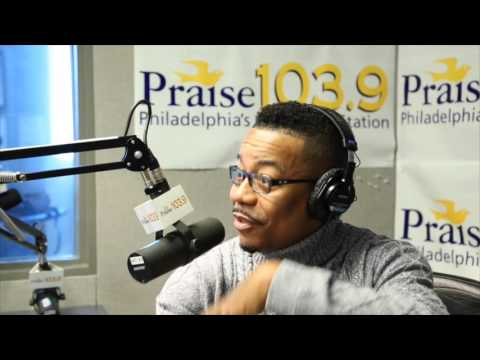 Lonnie Hunter Catches Up With Praise 103.9 Philadelphia #GetItDone