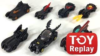 Every Happy Meal Batmobile from McDonald's   Batman Returns Animated Series LEGO Brave #ToyReplay