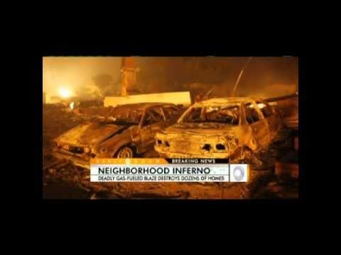 San Bruno Fire Eyewitness