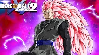 SUPER SAIYAN ROSE 3 VEGITO BLACK! The Mightiest Dark Fusion | Dragon Ball Xenoverse 2 Mods