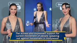 2018 Critics' Choice Awards: Gal Gadot delivers powerful acceptance speech