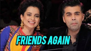 Kangana Ranaut - Karan Johar END WAR With Sweet Gesture