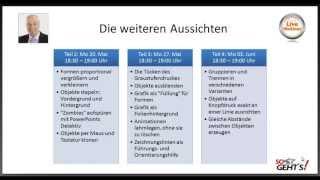 Webinar (1 von 4): PowerPoint 2010 - Tipps und Tricks