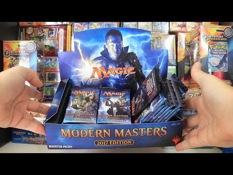 Opening a Modern Masters 2017 Booster Box - PART 1/2 - Magic The Gathering