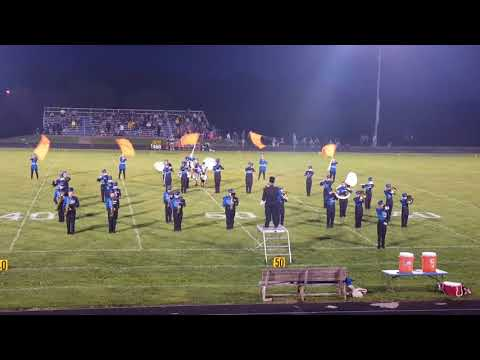 Lone Jack High School Marching Band 09/01/2017