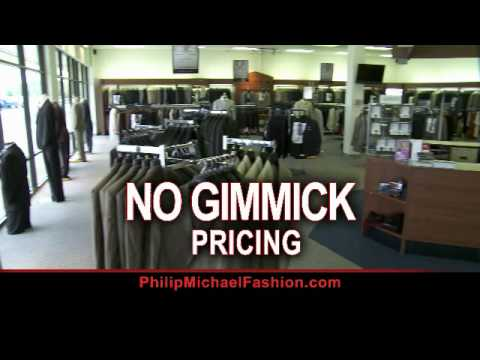 Philip Michael Fashion For Men Commercial Wmv