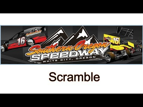 Southern Oregon Speedway Sprint Car Scramble!