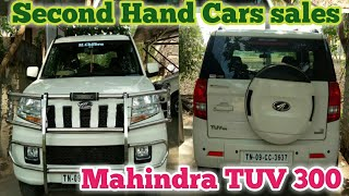 Mahindra TUV 300 Second Hand Car Sales|Jith Racing|tamil