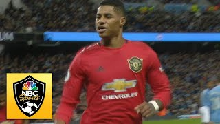 Marcus Rashford penalty gives Man United the lead against Man city  Premier League  NBC Sports