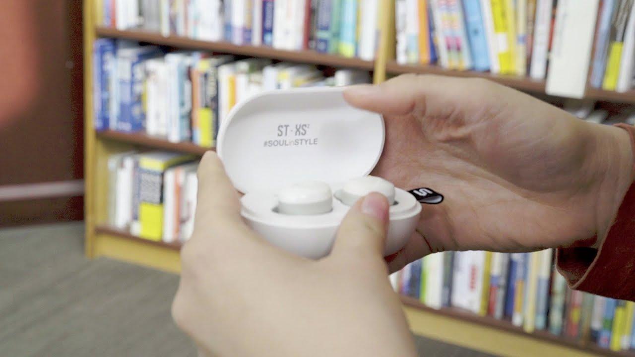 ab7155e7407 SOUL ST-XS2 Ultimate Active Performance True Wireless Earphones (White) | J  SELECT