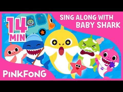 Thumbnail: The Shark Family and more | Sing along with baby shark | Pinkfong Songs for Children