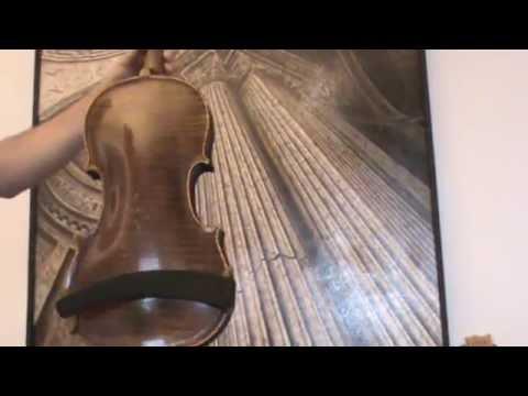 ♪♫► RARE OLD GERMAN MASTER VIOLA F.A. MEISEL 1893 BRATSCHE 中提琴 альт ビオラ 721