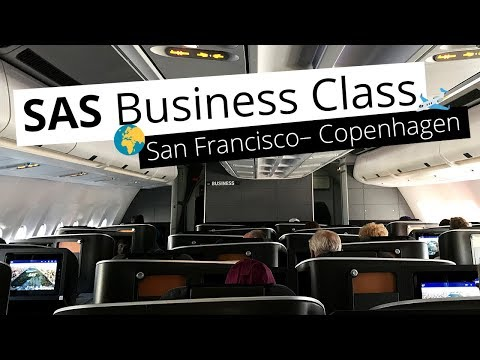 REVIEW: SAS Business Class from San Francisco to Copenhagen // United Club Lounge
