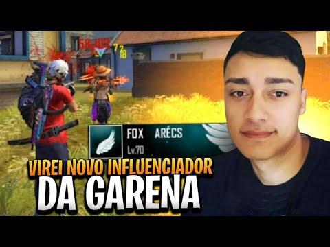 VIREI INFLUENCIADOR DA GARENA! 4X4 FRRE FIRE