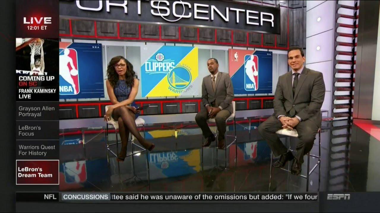 zegarek Pierwsze spojrzenie znana marka Cari Champion Legs Crossed in Stockings | ESPN
