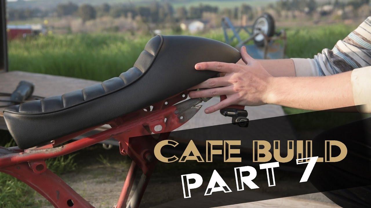 Honda Of Bend >> Cafe Racer Build Part 7: Bending Frame + Battery Box - YouTube