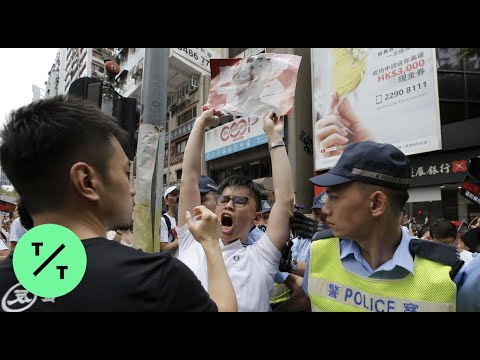 Massive Extradition Law Protests Fill Hong Kong Streets