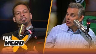Chris Broussard on Boston's Gm.1 win over the Cavs, Rockets vs Warriors in the West   NBA   THE HERD