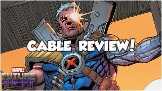 CABLE REVIEW! - Marvel Future Fight
