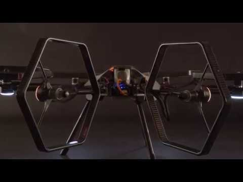 Voliro's concept hexacopter performs acrobatic stunts with ease