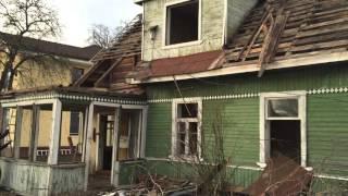Демонтаж деревянного дома компании ПрофСопСтрой(Демонтаж деревянного дома с фундаментом работы выполнены компанией ООО